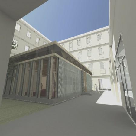 Studie Holzpavillon TU Graz
