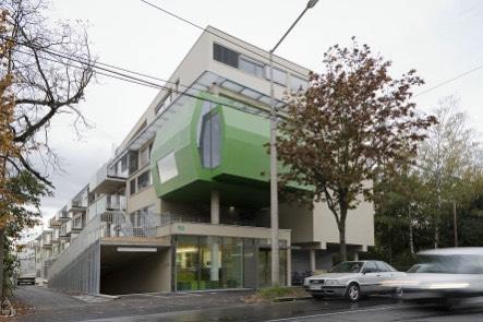 Studentenheim Greenbox Graz