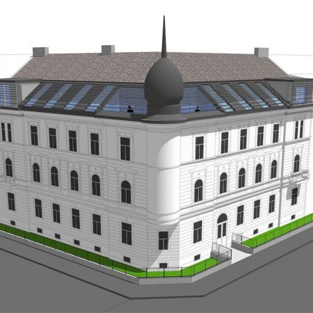 Umbau und Ausbau Gründerzeithaus H21