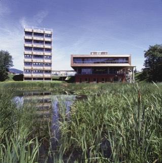 Zentralgebäude ÖKOPARK Hartberg