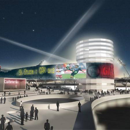 Umbau Stadion Graz