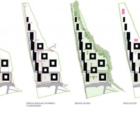Wettbewerb Wohnbau Triesterstrasse
