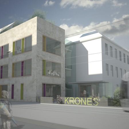 Wettbewerb Kronenschule Graz