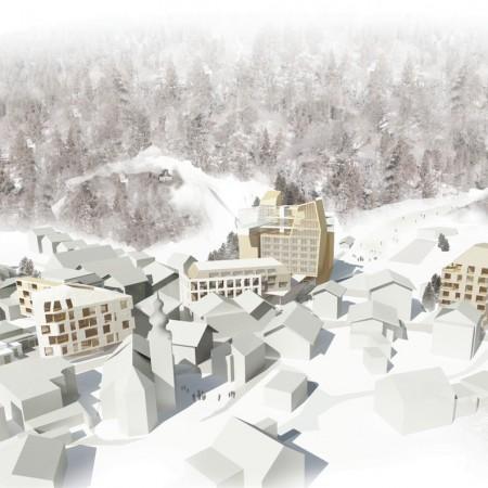 Wettbewerb Hotelprojekt Lofer
