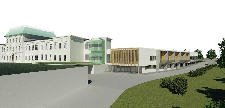 Spatenstich LKH Fürstenfeld Erweiterung Osttrakt